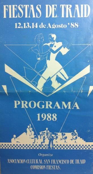 PROGRAMA FIESTAS 1988
